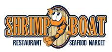Shrimp Boat Seafood Market Restaurant Logo