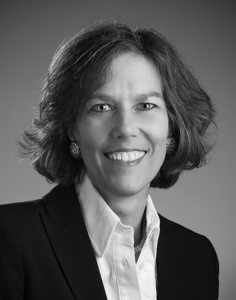 Lyn Falk Retailworks head shot black and white